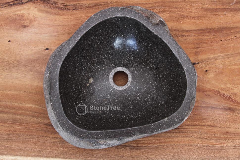 Раковина из речного камня River XV