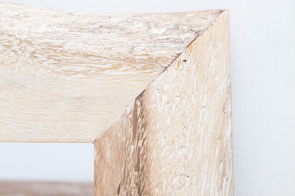 Зеркало White King (suar wood)