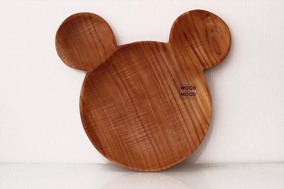 Тарелка фигурная Mickey Mouse