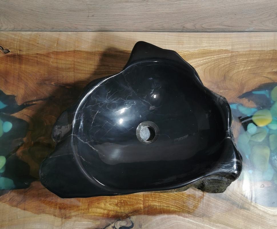 Раковина из окаменелого дерева GP-026