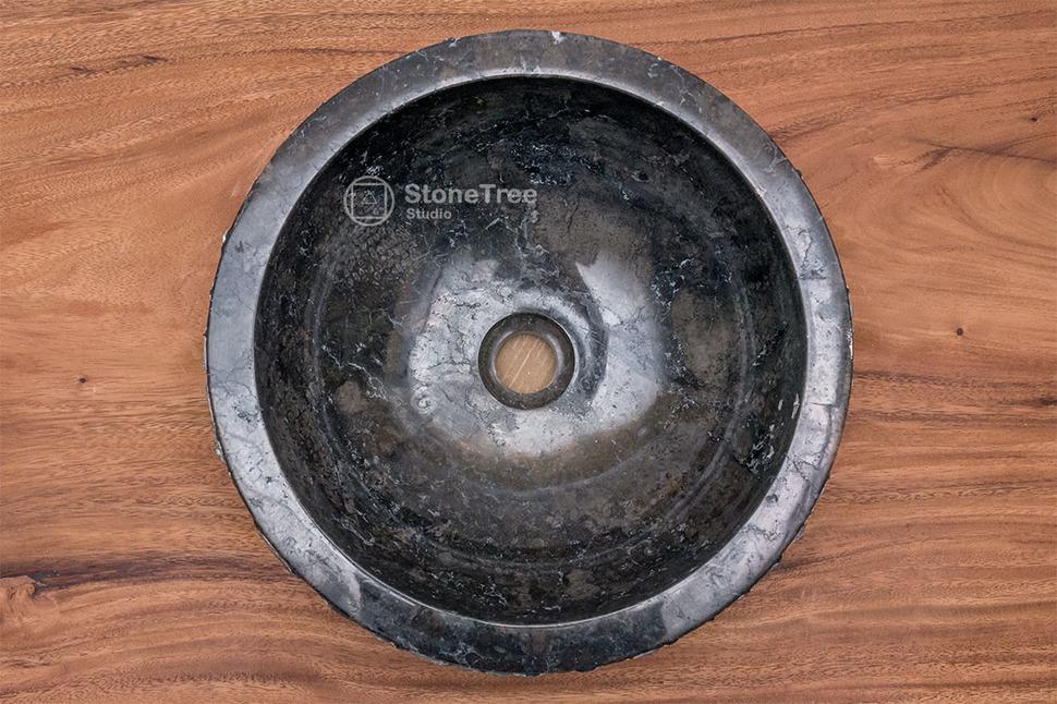 Раковина из мрамора Black Mamba III