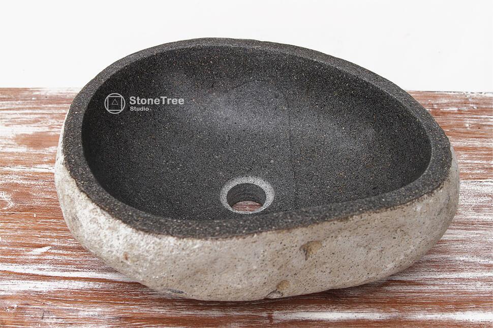 Раковина из речного камня River (в ассортименте)
