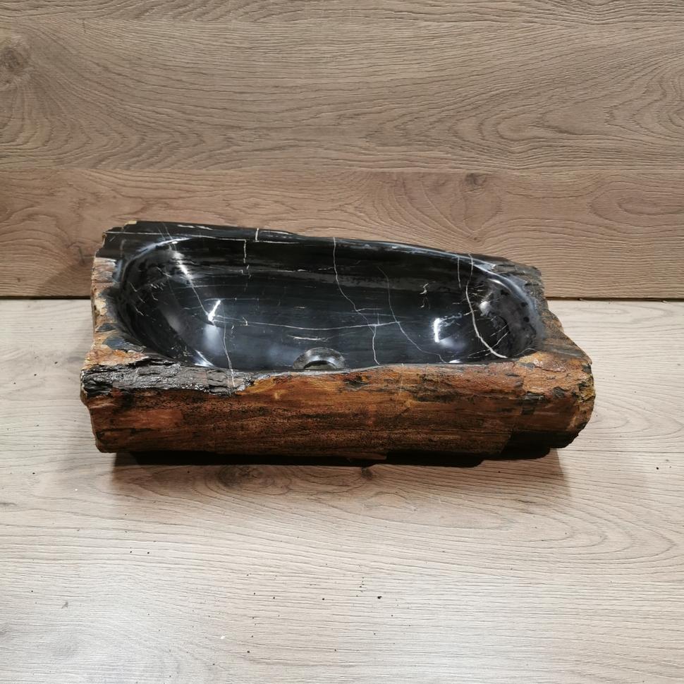 Раковина из окаменелого дерева GP-030