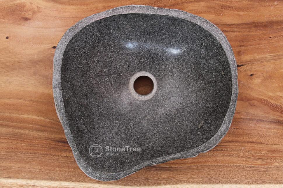 Раковина из речного камня River XVIII