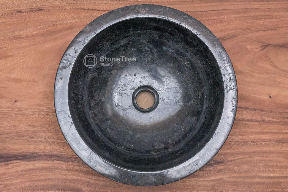 Раковина из мрамора Black Mamba I