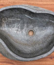 Раковина из речного камня River 43