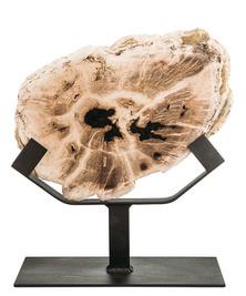 Панно из окаменелого дерева Panthera 5