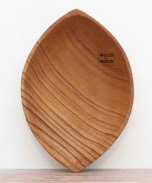 Фигурная тарелка Лодочка