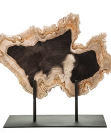 Панно из окаменелого дерева Panthera 4